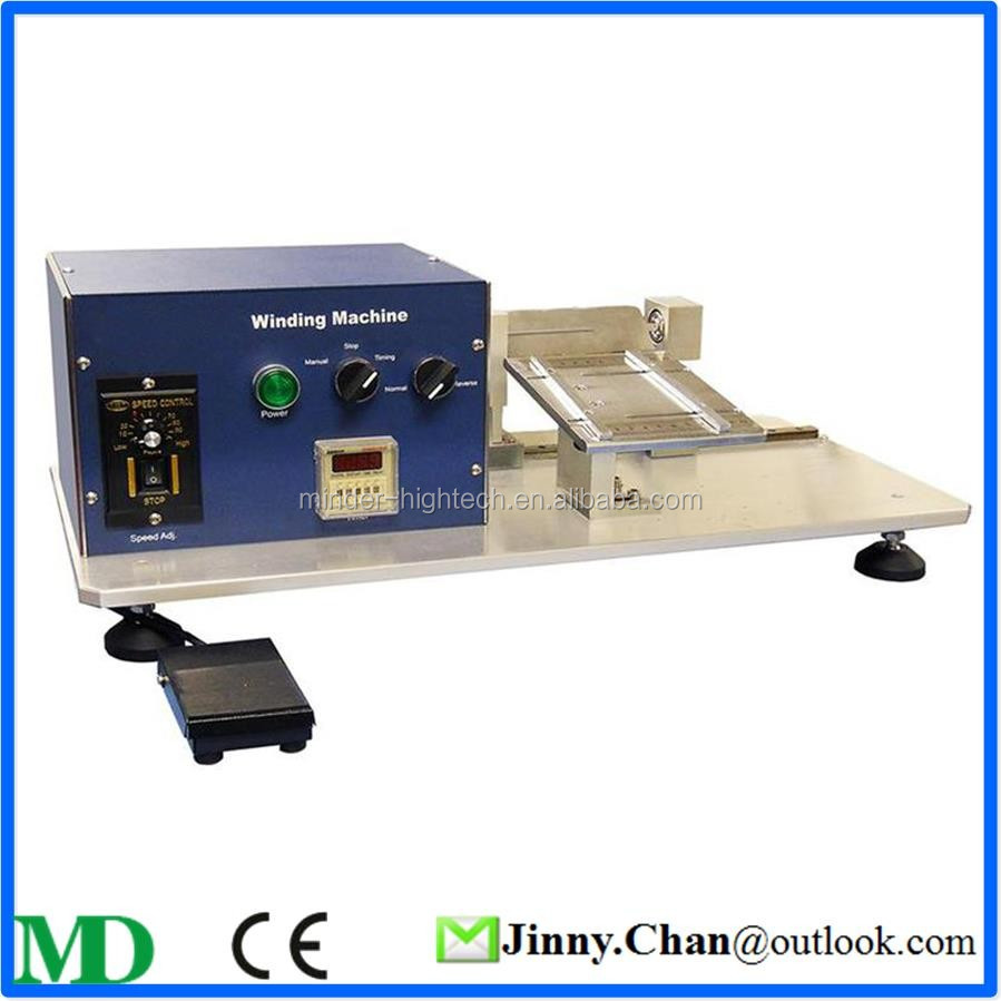 Low Price Lithium Ion Battery Manual Winding Machine For Battery Lab Study