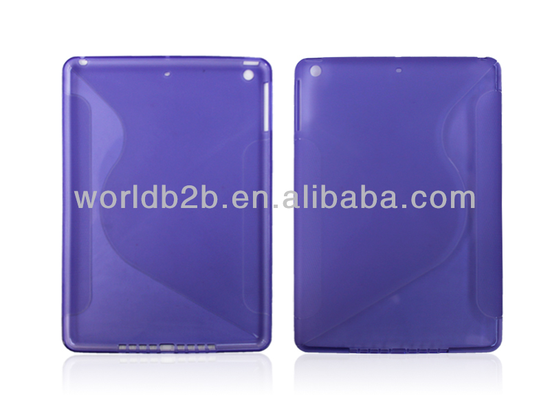S line TPU Gel Clear Case Cover for New iPad Air