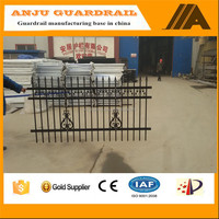 DK004 Decorative Galvanized steel Security Panel Fence