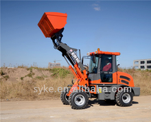 CE Approved Farm Machine Small Wheel Loader with Snow Bucket