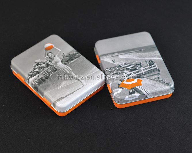 Latest design metal tin container for card