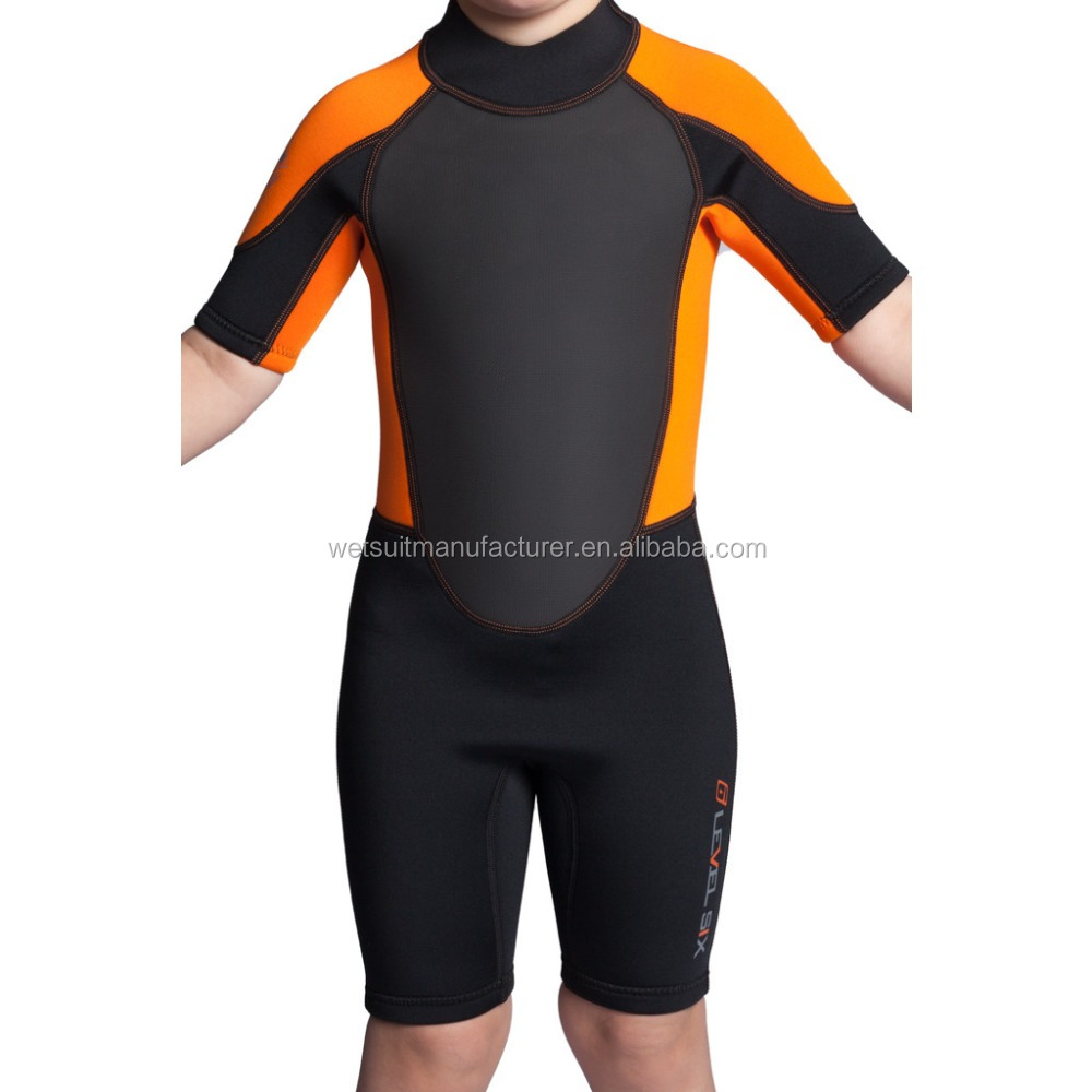Shorty Wetsuit For Child Kids China Factory