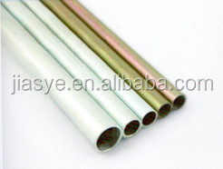 DIN High-Precision Cold Drawn Hot dip galvanized steel pipe Coated White Zinc