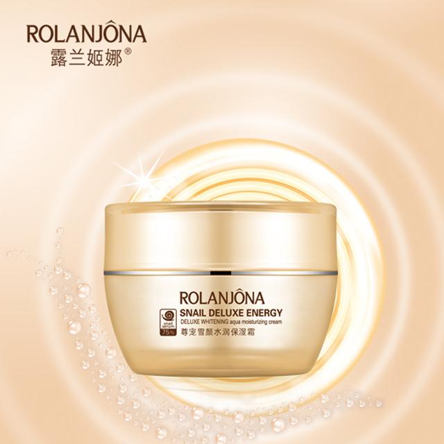 Rolanjona powerful whitening & aqua moisturizing cream snail cream