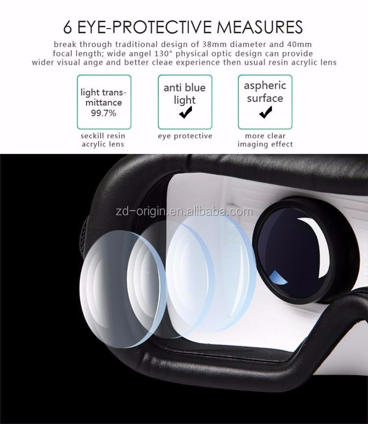 VR CASE 6th VR Virtual Reality 3D Glasses Smart Wireless Bluetooth Mouse/Remote Control Gamepad 2 vr case