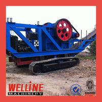 Hot Sale Portable Crushing Plant for construction waste recycling