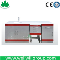 Hospital Furniture Stainless Steel Cabinets Factory Price SSC-03 Dental Cabinet