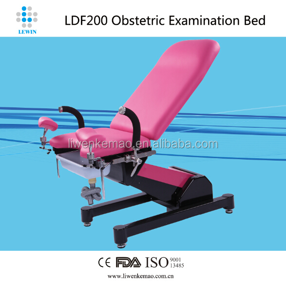 High Quality Medical Equipments Electric Hydraulic Gynecological Examining Table Obstetric Bed Operation Room Tables LDF-200