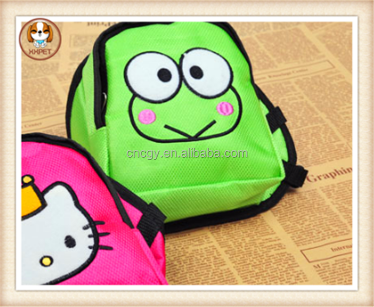2015 HOT selling factory Sale Christmas Pet backpack dog bag for new year