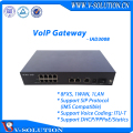 8POTS+1LAN+1WAN VoIP Gateway WAN to LAN Can Work in Bridging or Router Mode