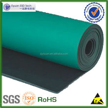 factory 2mm dull ESD rubber mat for table
