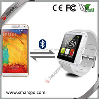 New arrival, 2014 smart watch mobile phone . wrist cellphone for sale.