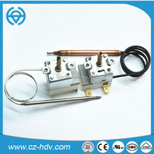 low cost capillary thermostat for water heater