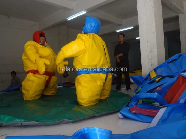 foam padded sumo wrestling suits/foam padded sumo suits