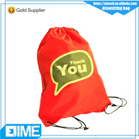 Supplier Joining Together Nylon Drawstring Mesh Bag Promotional