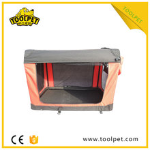 Expandable Foldable pet crate soft puppy cage for sale