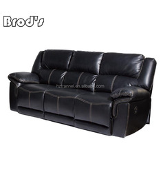 Leather recliner 1 2 3 seater sofa ,motion sofa in living room furniture for sale