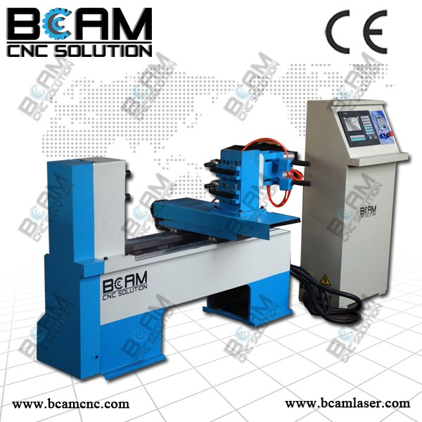 Small scale CNC wood Lathe BCM50020
