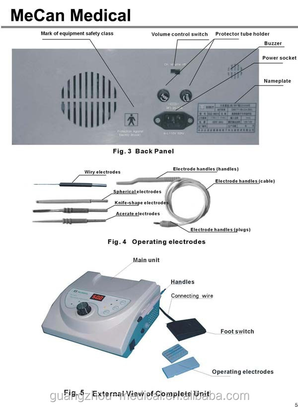 dental cautery machine