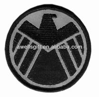 AVENGERS Movie SHIELD Logo Costume Shoulder Reflective Patch