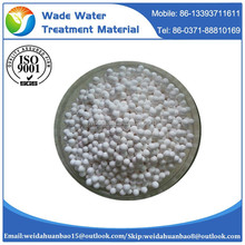 Lowest price activated alumina desiccant ball / ceramic ball