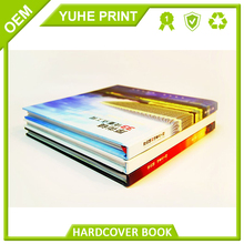 Creative printer with low price fancy paper with foil gold sliver case bound printing wedding book