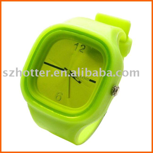 2016 Hot sale, cheap waterproof jelly wrist man watch