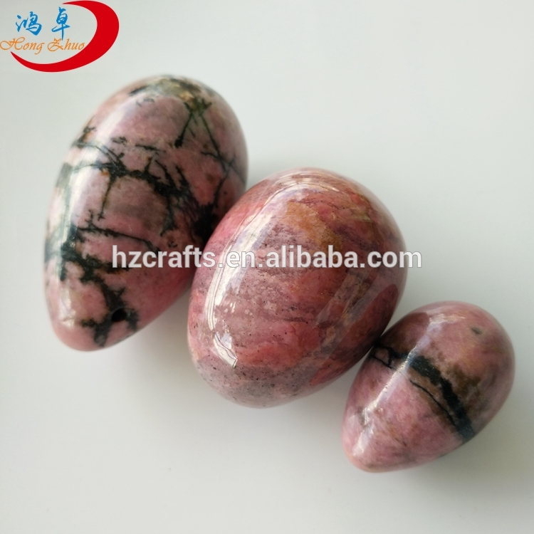 100% natural jade eggs set/3 yoni egg crystal kegel for decoration