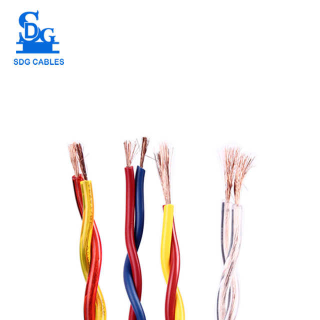 450/750V 2 Core Good Quality Home Appliance Twisted Paire Wire Price