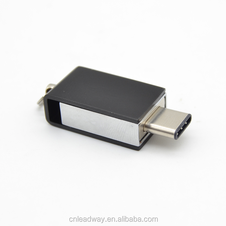 Black swivel type c mini usb 2GB to 32GB