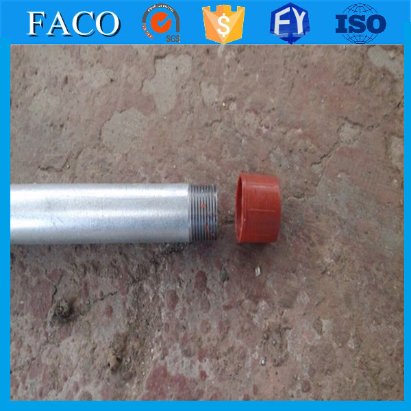 gi conduit ! ball with socket cover galvanized welded steel pipe