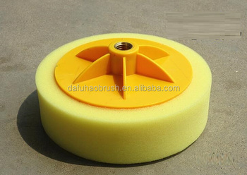 medium polishing Puffing Pad Polishing Sponge for Car 5 Inch