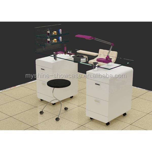 Nail Salon Furniture Modern Nail Table Manicure Table