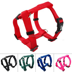 High Quality Durable H style Webbing Strap Nylon Dog Harness