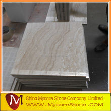 Low price super white travertine for tiles