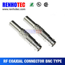 CCTV Camera Video BNC Connector Coaxial Cable Adapter BNC female free weld Q9 head adaptor