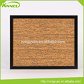 China supplier decorative special design fabric cork board wholesale