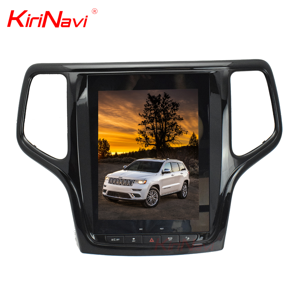 Kirinavi WC-GC1013 10.4 inch Vertical screen android 6.0 car dvd player for jeep Grand Cherokee 2013 - 2016 car navigation WIFI