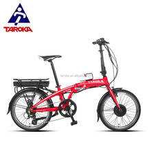 OEM 20 inch front hub drive wholesale folding bike electric foldable bicycle