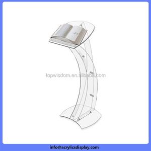 Wholesale Promotion personalized cheap acrylic lectern