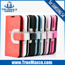 Hot Real Leather Case For Galaxy S4 I9500