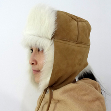 Wholesale High Quality Trooper Style Earflap Military Girs Adults Toscana Fur Ushanka Hat