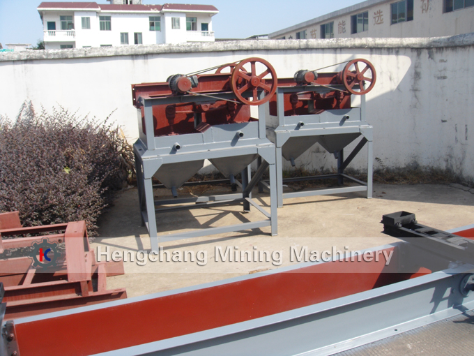 Gold mining Jig equipment