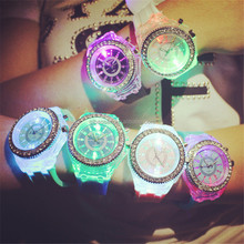 Special design wrist watches with LED light