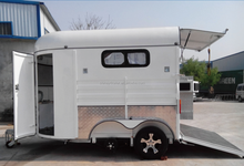 China factory horse float horse trailer for sale