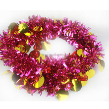 Factory offering christmas/party decorations tinsel garland