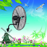 2015 Newest design Frequency conversion AC /DC wall fan / powerful air cooling fan
