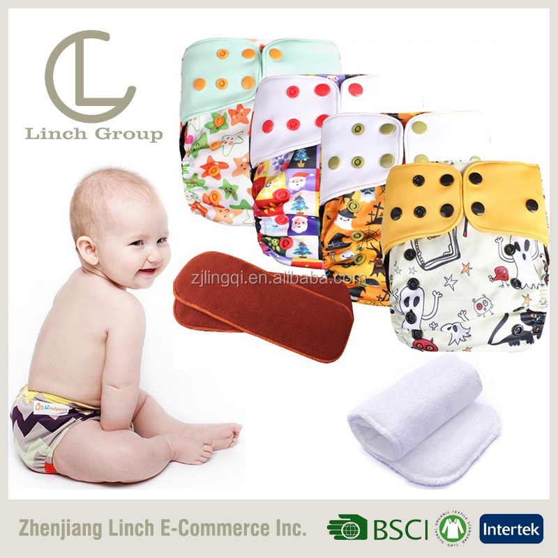 LC TD-039 pul cotton washable baby pocket best cloth diapers / modern cloth diapers nappies