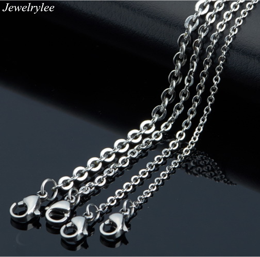 Stainless steel O necklace String Of Pearls Chain And Chain of Pearls