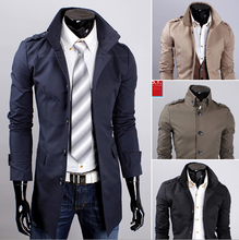 men jacket wholesale retail collar men's coat fashion clothes hot sale spring winter overcoat outwear